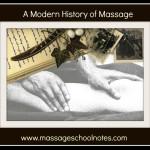 The Modern History of Massage