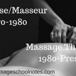 Masseuse/Masseur
