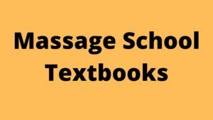 massage school textbooks